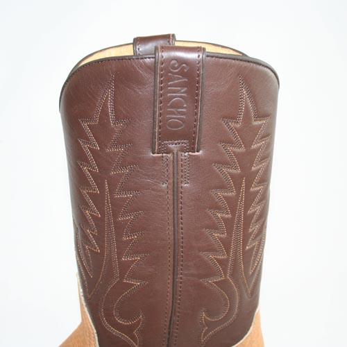 Servizio Spedizione Pelle : Stivali western in pelle di toro marca sancho boots