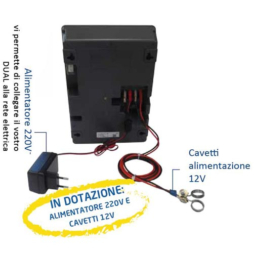 Elettrificatore lacme dual d2 a corrente e batteria 12v 1 for Elettrificatore lacme