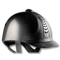 CAP TATTINI DA EQUITAZIONE IN SIMILPELLE E CARBON LOOK