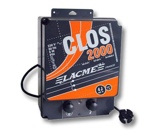 elettrificatore lacme clos 2000 a corrente 220 volt joule