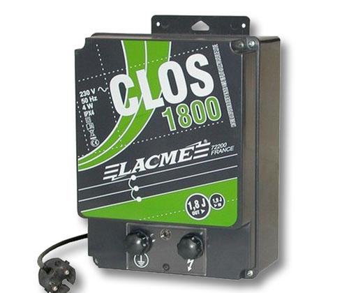 Elettrificatore lacme clos 1800 a corrente 220 volt joule for Elettrificatore lacme