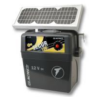 ELETTRIFICATORE LACME SECUR 100 SOLIS CON PANNELLO SOLARE 6W, JOULE 1,0