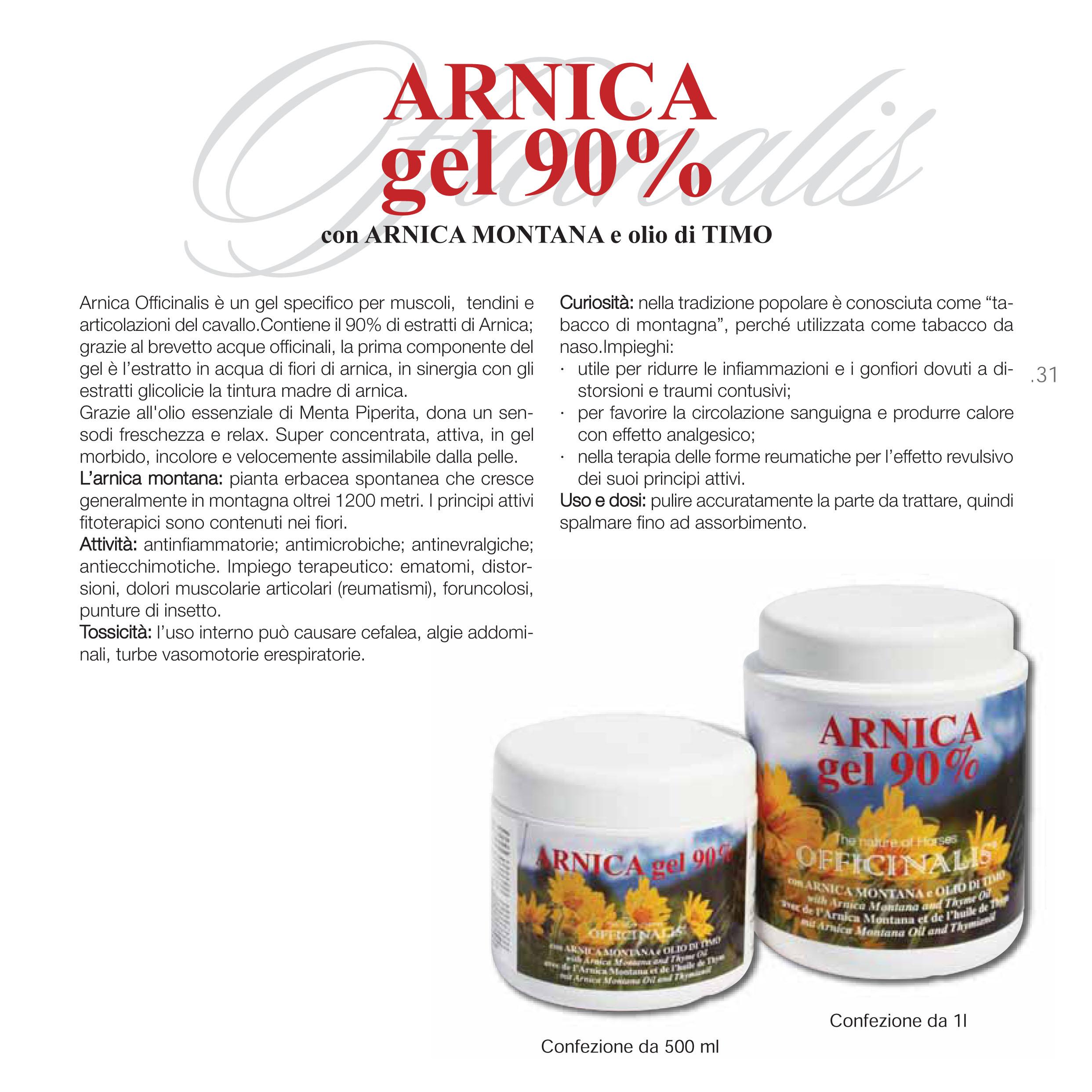 officinalis arnica gel 90%25  ARNICA GEL 90% OFFICINALIS PER ARTICOLAZIONI DEL CAVALLO - MySelleria