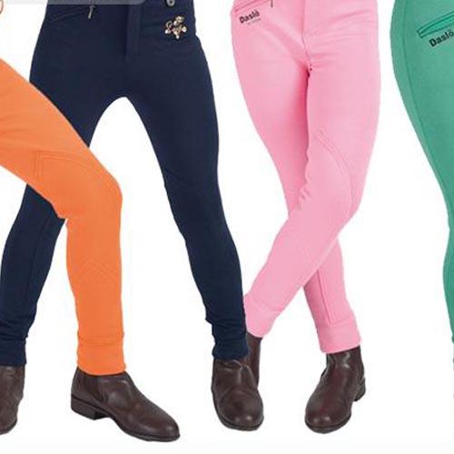 Pantaloni da Equitazione Daslo bicolore