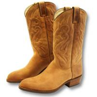 STIVALI WESTERN IN NABUK marca SANCHO BOOTS
