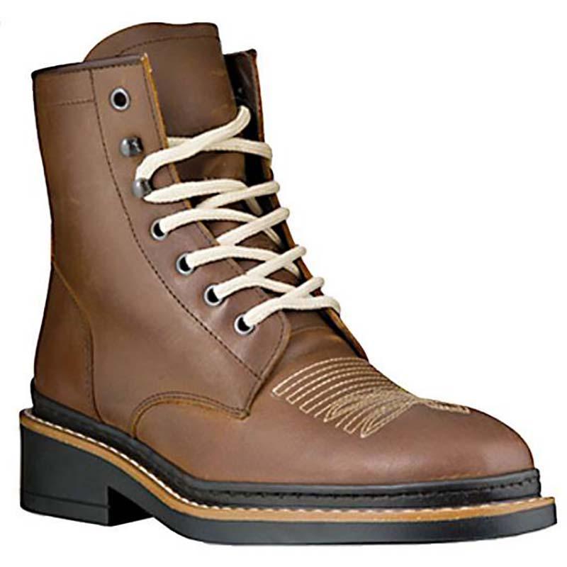 bello economico la vendita di scarpe forma elegante STIVALETTO WESTERN PIONEER DA LAVORO IN PELLE INGRASSATA - 4291