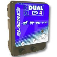 ELETTRIFICATORE LACME DUAL D4 A CORRENTE E BATTERIA 12V, 3 JOULE
