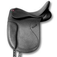 SELLA DRESSAGE PRO LIGHT VERA PELLE CON ARCIONE REGOLABILE