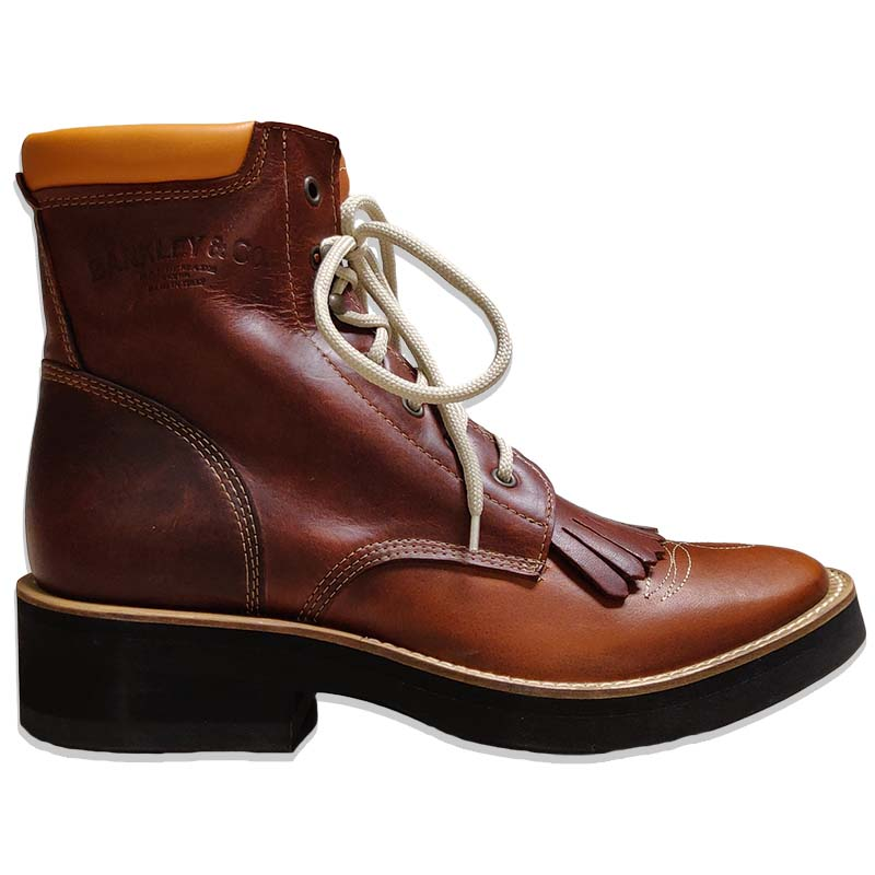 STIVALE MONTA WESTERN BARKLEY LACER BOOTS 4293
