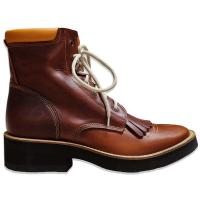 STIVALE MONTA WESTERN BARKLEY LACER BOOTS