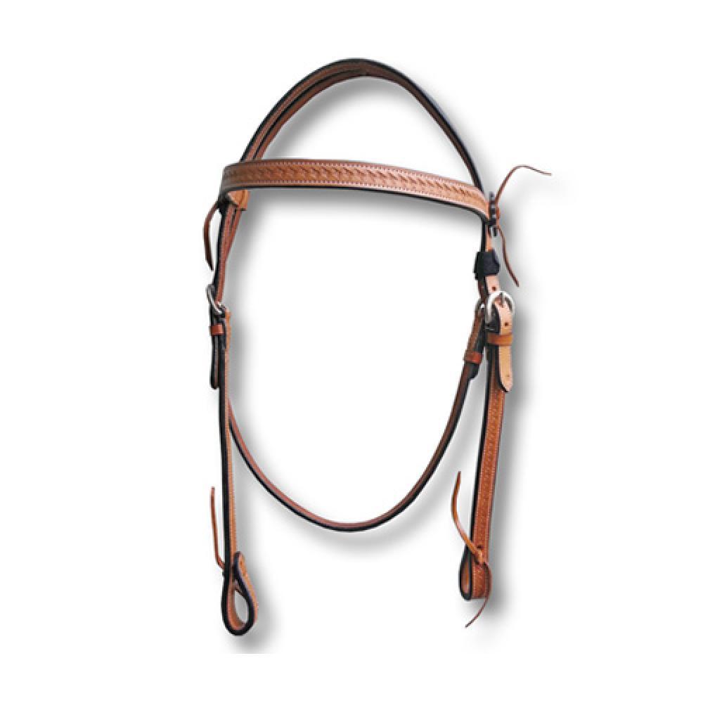 Dressur Trense Zaum schwarz Stirnband mit geduldigem Leder  Neu inklusive Zügel