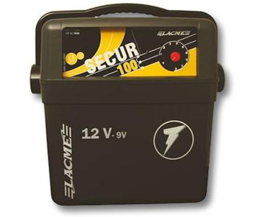 Elettrificatore a batteria lacme secur 100 joule 1 0 for Elettrificatore lacme