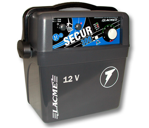 Elettrificatore a batteria lacme secur 300 joule 3 0 for Elettrificatore lacme