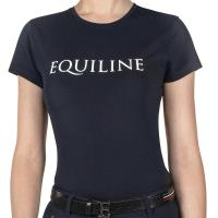 EQUILINE RIDERS TEAM COLLECTION T-SHIRT TEMPO LIBERO da DONNA
