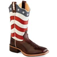 STIVALI WESTERN OLD WEST da DONNA modello USA FLAG