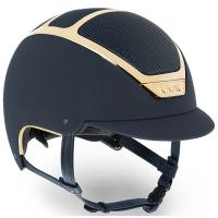 CASCO EQUITAZIONE KASK DOGMA CHROME LIGHT GOLD