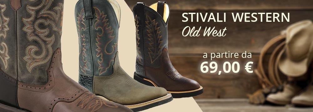 Visita i nostri Stivali Western Old West