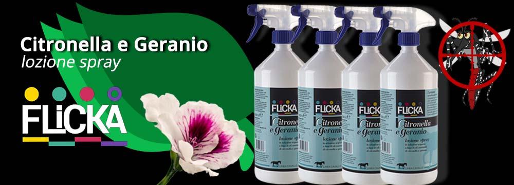 Lozione Spray Citronella e Geranio: la novità dei Repellenti Naturali!