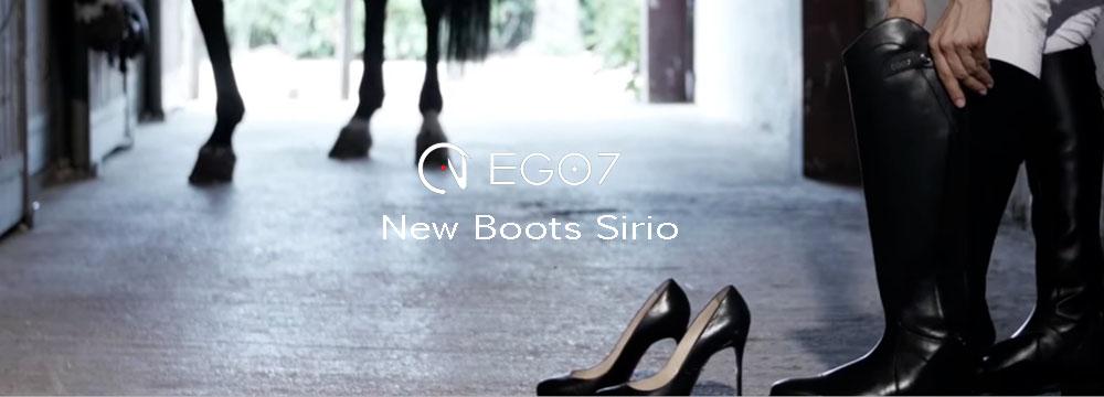 Nuovi Stivali Sirio Ego7: Nuovo Prezzo imbattibile, 100% Made in Italy