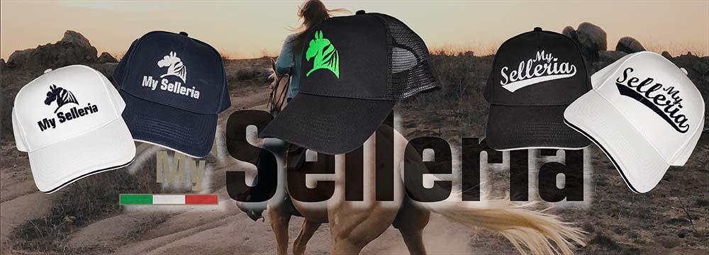 Nuovi Cappellini ricamati My Selleria, scegli il tuo Stile!