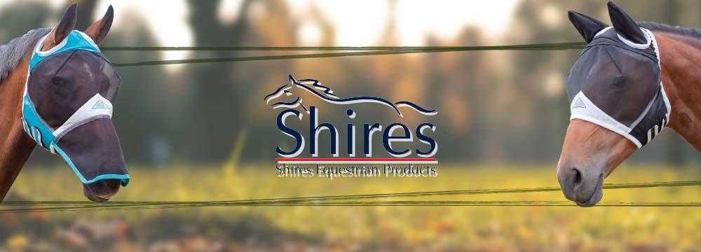 Maschere SHIRES: Proteggi Subito il Tuo Cavallo dagli Insetti!