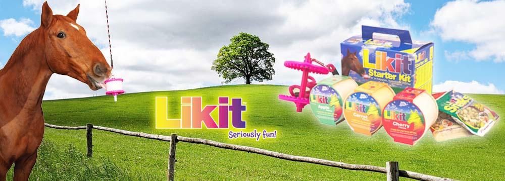 Likit Starter Kit: ciò che serve al tuo Cavallo per spezzare la noia!