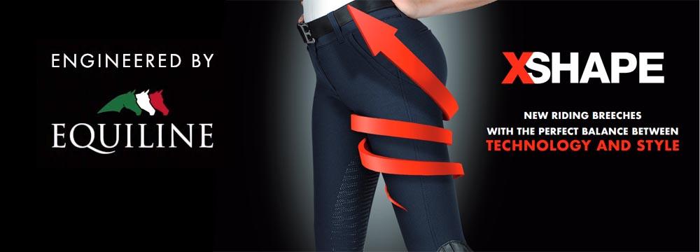 Nuovi Pantaloni X-Shape Equiline