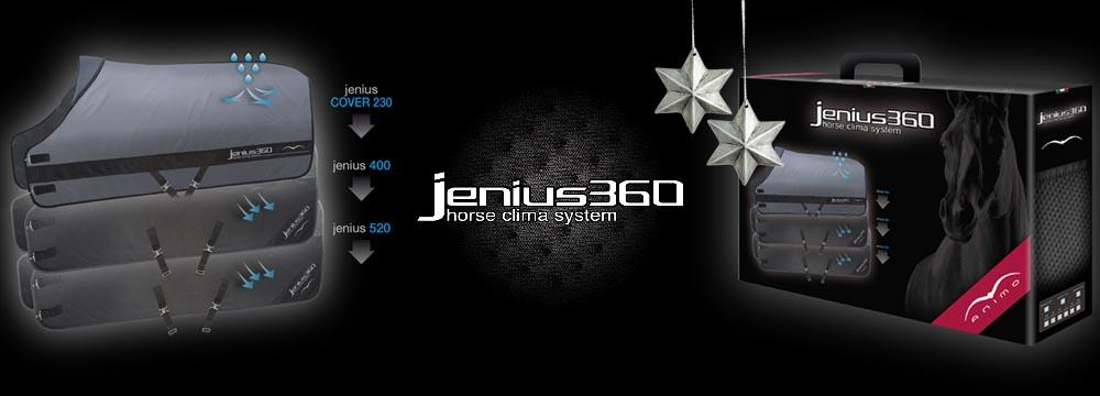 Nuova coperta Jenius360 Animo - Horse Clima System