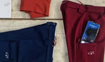 Pantalone con tasca Smartphone