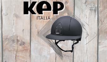 Casco KEP Italia con Visiera Polo!